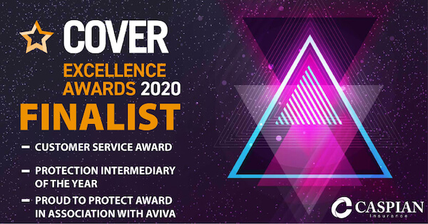 finalist for awards banner in 3 categories