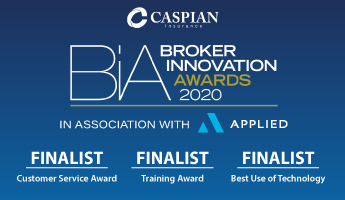 Caspian shortlisted for broker innovation awards
