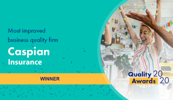 caspian insurance business quality award winner
